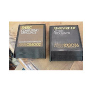 2 Vintage Cartridges Basic Computing Language Writer Word Processor - EE658538