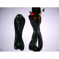 Generic Xbox AV Cables AC Power Cord For Xbox Original Black - ZZ659288