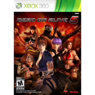 Dead Or Alive 5 For Xbox 360 Fighting With Manual And Case - EE659651