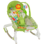 Fisher-Price Newborn-To-Toddler Portable Rocker Green - EE660210