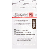 Speci-Gard 95-CMS59 Specimen Bag Adhesive Closure Biohazard Clear Case - EE660224
