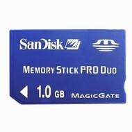 SanDisk 1GB Memory Stick Pro Duo Dark Blue For PSP SDMSPD-1024-A10 UMD - EE660285