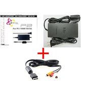 Slim AC Adapter Charger Power Cord Supply For Sony PS2 Audio Video AV - ZZ660334
