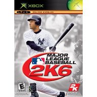 Major League Baseball 2K6 Xbox For Xbox Original With Manual and Case - EE660352