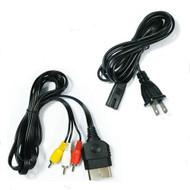 AV Cable AC Power Supply Adapter Cord Set For Xbox Original - ZZ660440