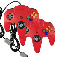 2 X Game Gaming Pad Console Controllers For Nintendo 64 N64 - ZZ660521