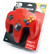 Controller Solid Red Third Party For N64 Nintendo - ZZ660525