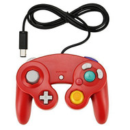 Generic Red Classic Wired Gamepad Joypad Controller For Nintendo Wii - ZZ660526