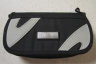 On The Go Travel Carry Nylon Case For PSP Black Grey Gray UMD Multi - EE661089