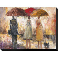 "Artcom Spring Showers 1 By Marc Taylor Stretched Canvas Print 16"" H - DD661255"