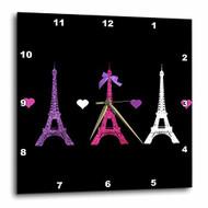 3DROSE Dpp 113151 2 Girly Eiffel Tower Paris Towers Love Hearts - DD661343