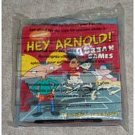 Wendy's Hey Arnold Urban Games Two Sided Game Board Kids' Meal Toy 200 - DD661540