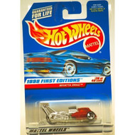 1998 Mattel / Hot Wheels Whatta Drag Custom Chrome And Metallic Red 19 - DD661582