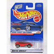Hot Wheels Cat-A-Pult 1998 First Editions #38 5 Spoke/red Logo Toy Red - DD661581