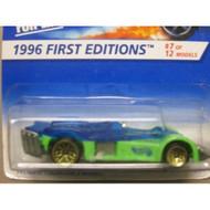 Hotwheels Road ROCKET-1996 1st Edition #7-12 Collector #371 Toy Green - DD661603