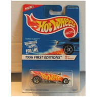 Hot Wheels Turbo Flame 1996 First Editions 8 Of 12 369 Toy - DD661625