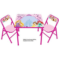 Disney True Princess Within Erasable Activity Table Set With 3 Markers - DD661933