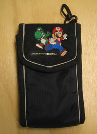 BD&A Switch N Carry Case Black Featuring Mario And Yoshi Pouch For DS - EE661976