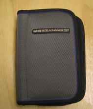 BD&A Universal Game Boy Advance SP Game Folio Carrying Case Gray With - EE662037