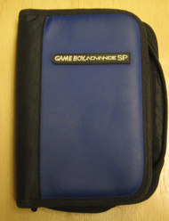 BD&A Universal Game Folio Navy Leather Like Blue Black GBA Boy Advance - EE662040