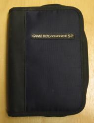 BD&A Universal Nylon Game Folio Case Blue Black GBA Multi-Color Boy - EE662041