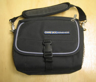 Black Nylon Zipped Muliple Compartment Carry Case Bag GBA Carry - EE662047