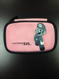 Nintendo Pink Mario Pouch For DS Lite - EE662349
