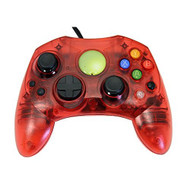 Replacement Controller For Xbox Original Red Transparent By Mars - ZZZ99135