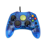 Replacement Controller For Xbox Original Blue Transparent By Mars - ZZZ99137
