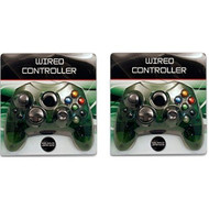 2 Lot New Green Controller Control Pad For Original Microsoft Xbox X - ZZ663533