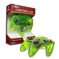 Extreme Green N64 Controller Nintendo 64 Classic Joypad Design - ZZ663587