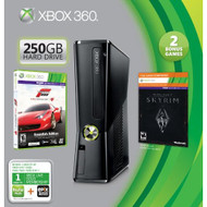 Xbox 360 250GB Holiday Value Bundle With Skyrim And Forza 4 - ZZ663759