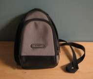 ALS Industries Mini Game Traveler Backpack Gray Black For Nintendo - EE664032