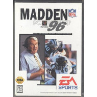 Madden 96 Football For Sega Genesis Vintage With Manual and Case - EE664060