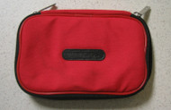Red Nylon Zippered Pouch For 3DS - EE664385