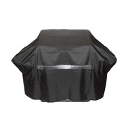 60 Inch Heavy Duty Weather Resistant Premium Grill Cover Black Large - DD664472