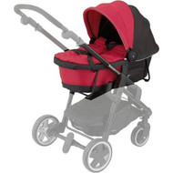 Kiddy Click 'N Move 3 Carrycot Cranberry Red Hard 56-120-CC-055 - DD664485
