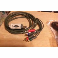 Microsoft Xbox 360 A/v Component/composite Cable W/spdif Audio Out - ZZ664488