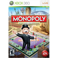Monopoly Worldwide For Xbox 360 Board Games - EE664582