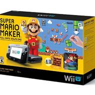 Super Mario Maker Console Deluxe Set Nintendo Wii U - ZZ664681