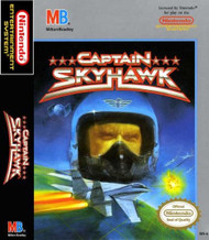 Captain Sky Hawk For Nintendo NES Vintage - EE664736