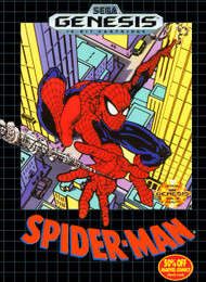 Spider-Man For Sega Genesis Vintage - EE664764