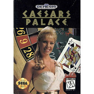Caesars Palace For Sega Genesis Vintage With Manual and Case - EE664784