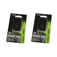 2 Power Pak Black For Xbox 360 - EE664874