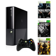 Microsoft Xbox 360 500GB With Gears Of War 3 And Call Of Duty: Black - ZZ665236