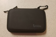 I-Con Eva Hard Cover Travel Carry Case Black Game DS For 3DS - EE665351