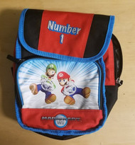 Officially Licensed Mario Kart Number One 1 Travel Accessory Bag Multi - EE665366
