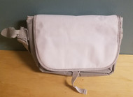 Messenger Bag White Gray Grey Multi-Color Carry/shoulder For Wii - EE665359