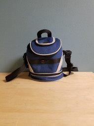 Travel Carry Bag GBA Multi-Color Blue Gray Black Grey Carry/shoulder - EE665384