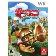 Backyard Sports Football: Rookie Rush For Wii With Manual and Case - EE665416